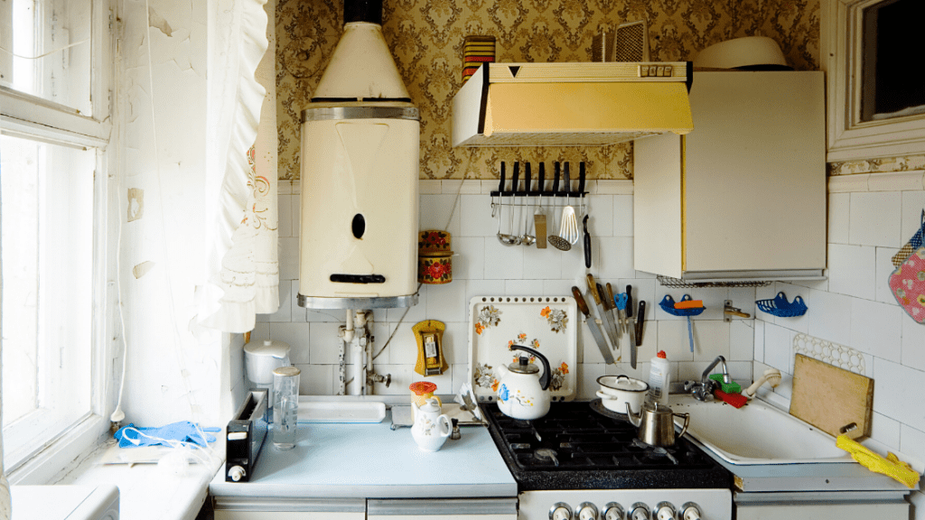 Real estate agent might suggest a kitchen renovation